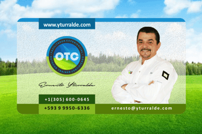 Ernesto Yturralde Business Card